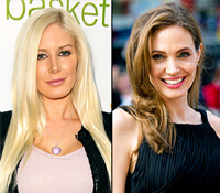 Montag and Jolie Share Cosmetic Secrets