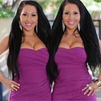 Twins Share Plastic Surgery and Boyfriend