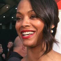 Zoe Saldana Considers Breast Augmentation
