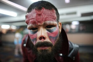Man Tattoos Eyeballs and Removes Part of Nose to Resemble Marvel Villain