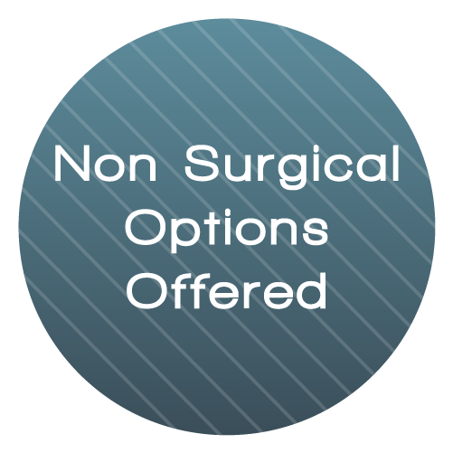 Non Surgical Option Offer